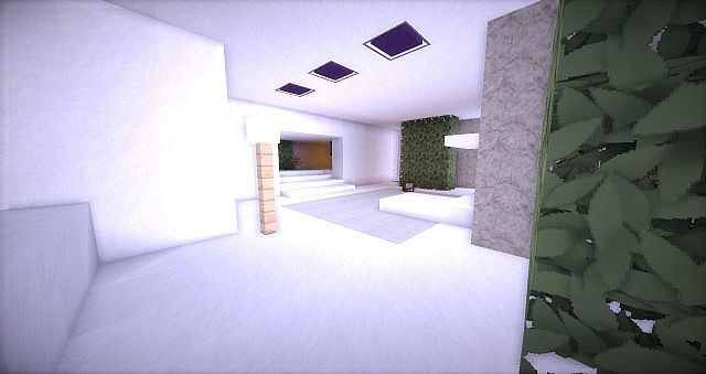 Leafv  Minimalist house Minecraft design building ideas 7