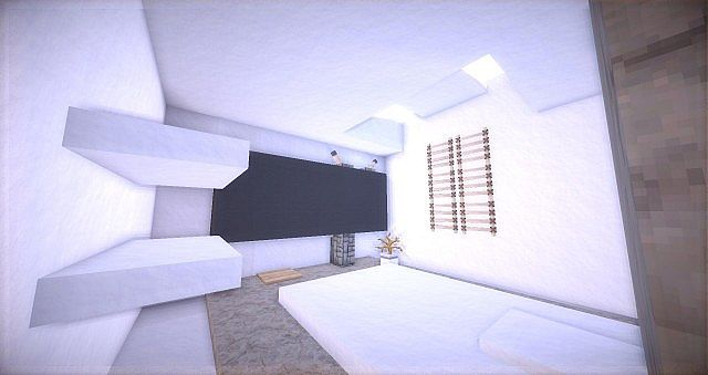 Leafv  Minimalist house Minecraft design building ideas 8