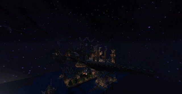 Mechanic City minecraft building ideas 2
