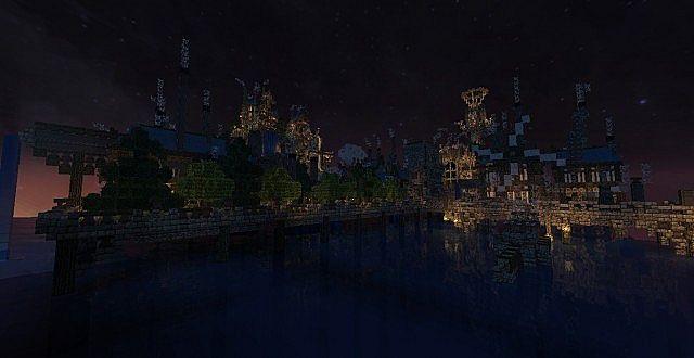 Mechanic City minecraft building ideas 3