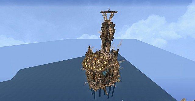 Mechanic City minecraft building ideas 4