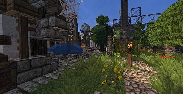 Mechanic City minecraft building ideas 5