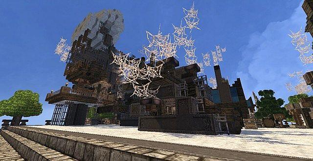 Mechanic City minecraft building ideas 6