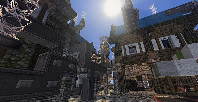 Mechanic City minecraft building ideas 7