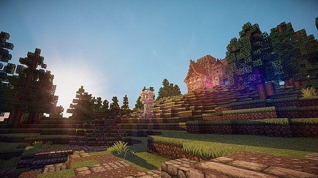 Medieval Mansion minecraft building ideas 11