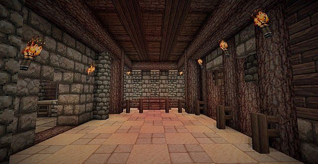 Medieval Mansion minecraft building ideas 13