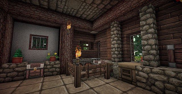 Medieval Mansion minecraft building ideas 14
