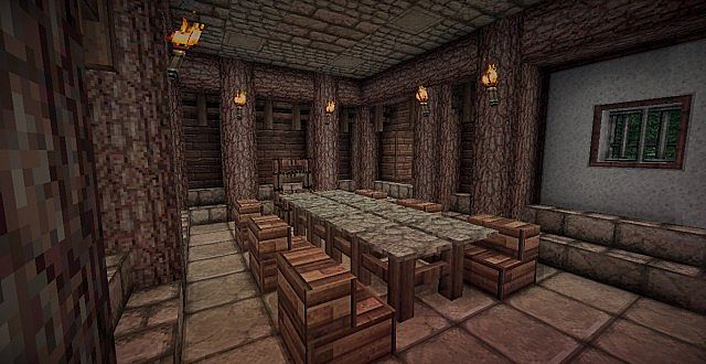 Medieval Mansion minecraft building ideas 15