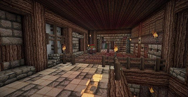 Medieval Mansion minecraft building ideas 16