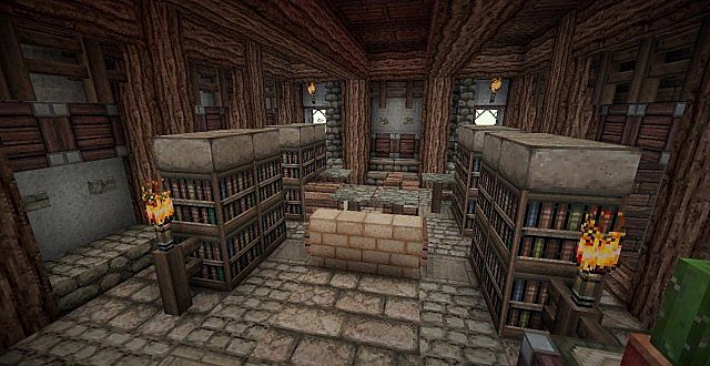 Medieval Mansion minecraft building ideas 17