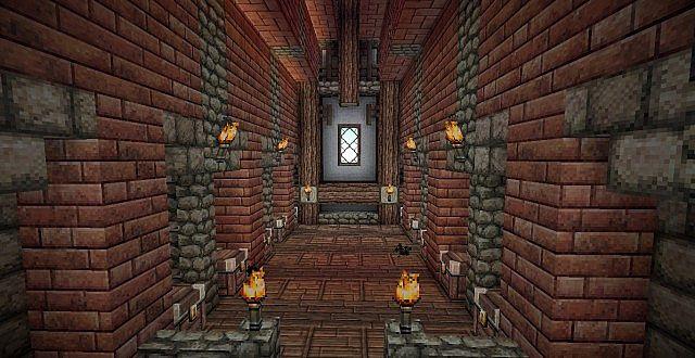 Medieval Mansion minecraft building ideas 19