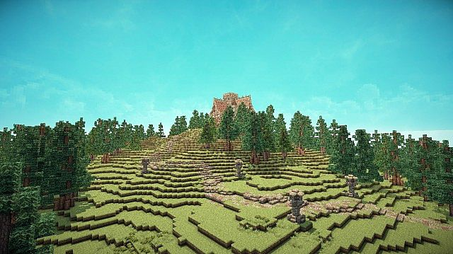 Medieval Mansion minecraft building ideas 8