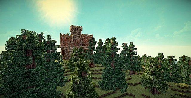 Medieval Mansion minecraft building ideas 9