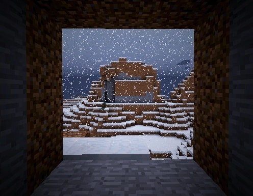 Photo of Minecraft in Winter | Animated Gifs