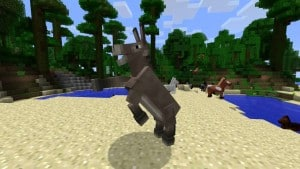 Minecraft Donkey Fast Jumping