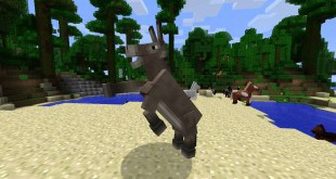 Minecraft Donkey Fast Jumping
