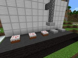 Minecraft build ideas packing cakes factory assembly line