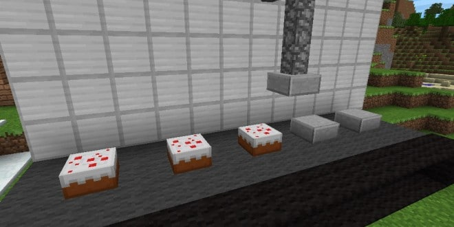 minecraft build ideas packing cakes factory assembly line - Minecraft Design Ideas