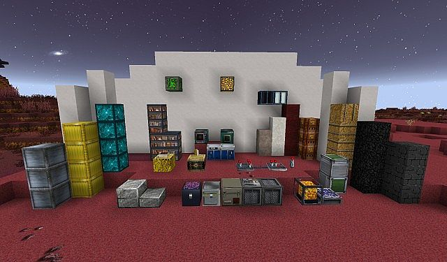Norzeteus Mars Edition minecraft building resource pack 2