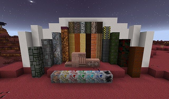 Norzeteus Mars Edition minecraft building resource pack 3