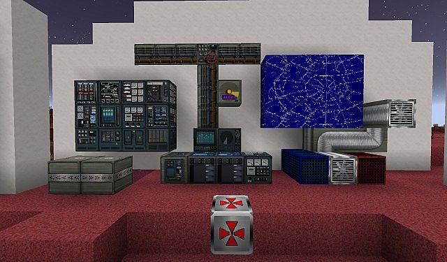 Norzeteus Mars Edition minecraft building resource pack 4