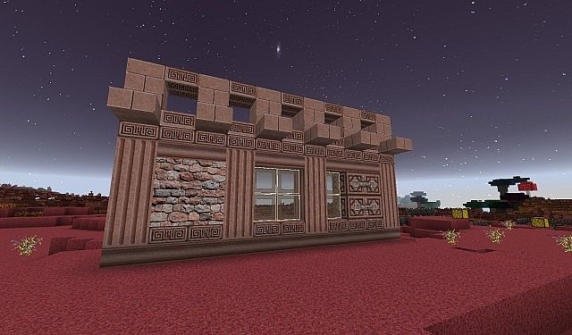 Norzeteus Mars Edition minecraft building resource pack 7