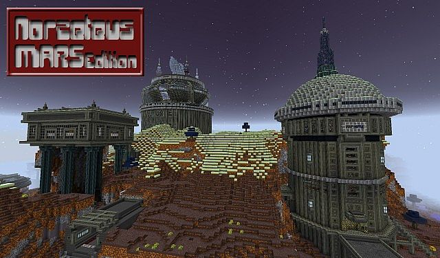 Norzeteus Mars Edition minecraft building resource pack