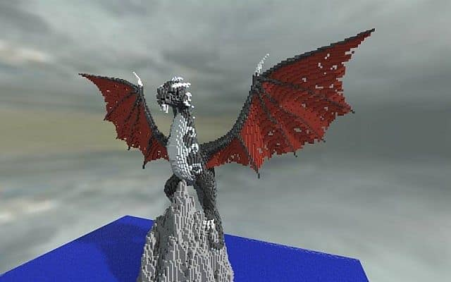 Ormir The Fearsome Dragon Minecraft Building Inc