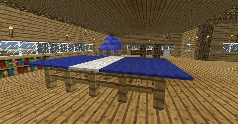 Ping Pong Table Minecraft design inside 2
