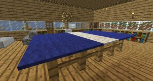 Ping Pong Table Minecraft design wood