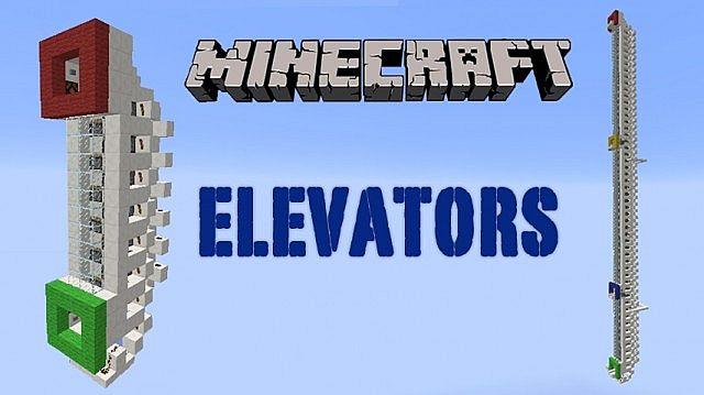 Piston Elevator Pack 1.7.4 up minecraft building 2