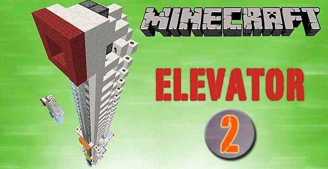 Piston Elevator Pack 1.7.4 up minecraft building
