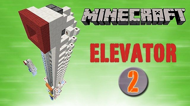 Piston Elevator Pack 1.7.4 up minecraft building