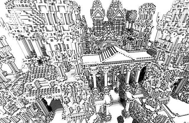 Quartz minecraft building ideas castle island 2