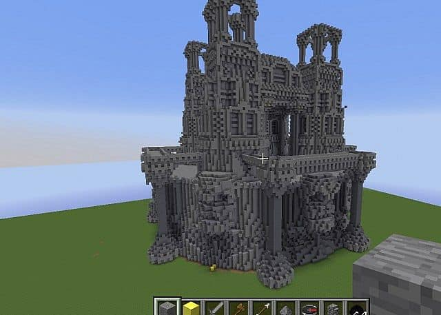 Quartz minecraft building ideas castle island 6