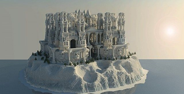 Quartz Castle Island Minecraft Building Inc. Minecraft Castle Interior Design Ideas