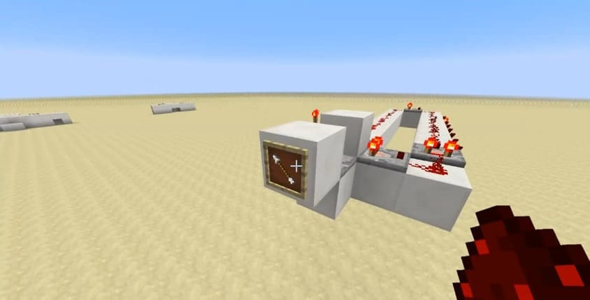 Simple 8-Way Item Frame Selector Switch – Minecraft Building Inc