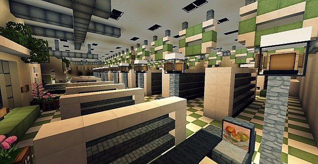 supermarket minecraft building inc