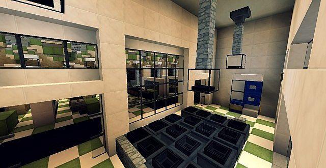 SuperMarket Minecraft building ideas shopping 5