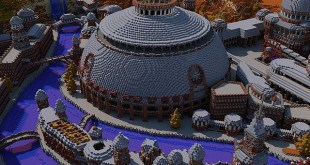 The Red City Irroth minecraft building ideas
