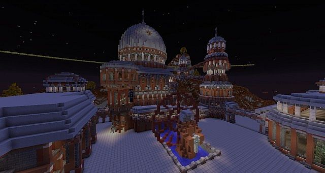 The Red City Irroth minecraft building ideas 6