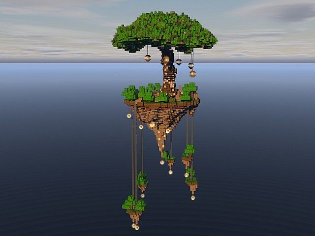 Tree of Life floating island 2