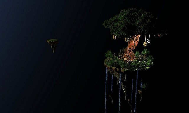 Tree of Life floating island 3