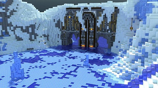 winter s secret village minecraft building inc