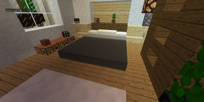 bed pillows snow - Minecraft Design Ideas