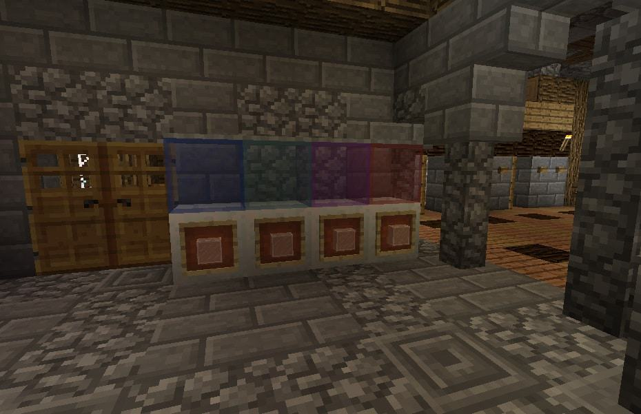 water cooler minecraft interior how to