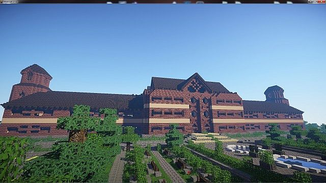 Chroma High School minecraft building ideas