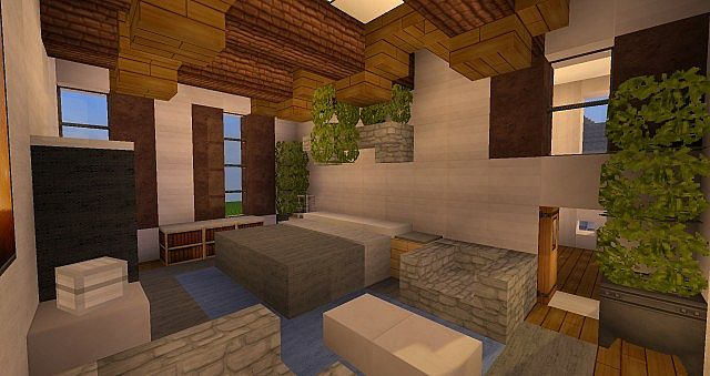 Federal Adams Colonial house minecraft building 8