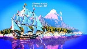 Galleon Aurora Ship Minecraft