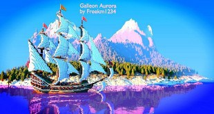 Galleon Aurora Ship Minecraft